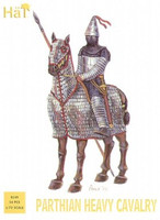 Parthian Heavy Cavalry (18 Soldiers w/15 Horses) 1/72 Hat