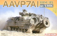AAVP7A1 RAM/RS Armored Assault Amphibious Landing Vehicle with EAAK 1/72 Dragon