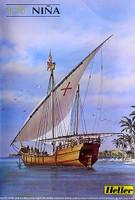 Nina Sailing Ship 1/75 Heller