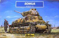 Somua Battle Tank 1/72 Heller