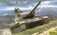 AMX 30/105 French Tank 1/72 Heller