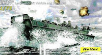 LCVP Landing Craft Vehicle Personnel w/Figures 1/72 Heller