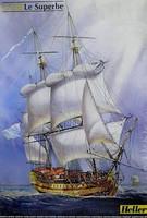 Le Superbe Sailing Ship 1/150 Heller