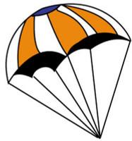 12 Inch Parachute  Estes Rockets