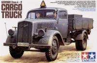 3-Ton 4x2 German Cargo Truck 1/35 Tamiya