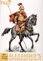 Alexanders Macedonian Cavarly w/Horses (24) 1/72 Hat