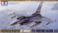 F-16C Block 25/32 Fighting Falcon ANG Aircraft 1/48 Tamiya