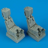 F/A-18D Hornet Ejection Seats w/Safety Belts (2) 1/32 Quickboost