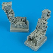 F-14A Ejection Seats w/Safety Belts (2) 1/32 Quickboost