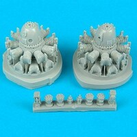 B-26 Marauder Engines for RMX 1/48 Quickboost