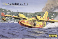 Canadair CL415 French Coast Guard Seaplane  1/72 Heller