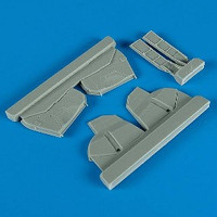 P-47D Thunderbolt Undercarriage Covers for HSG 1/48 Quickboost