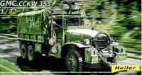 GMC CCKW 353 Canvas Covered Military Truck 1/72 Heller