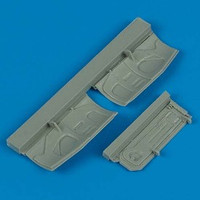 F-16 Fighting Falcon Undercarriage Covers for HSG 1/48 Quickboost