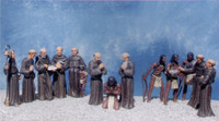 California Mission Padres & Indians (15) (Plastic Kit) 1/48 Pegasus