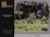 Waffen SS 1943 Kursk LAH Soldiers Set #2 (43) (Plastic Kit) 1/72 Pegasus
