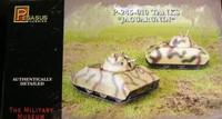 P245-010 Jaguarundi Tanks (2) (Snap Kit) 1/72 Pegasus