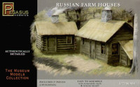 Russian Farm Houses (2) (Snap Kit) 1/72 Pegasus