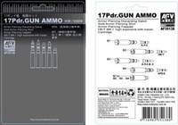 Gun Ammo, Brass 17 Pounder 1/35 AFV Club