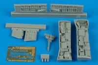 A-7D Corsair II Electronic Bay (For Hasegawa) 1/48 Aires