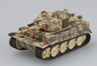 Tiger I Late Production Tank #242 Schwere SSPzAbt102 Normandy 1944 (Built-Up Plastic) 1/72 Easy Models