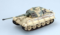 King Tiger II #100 (Henchel Turret) Schwere SSPzAbt503 (Built-Up Plastic) 1/72 Easy Models