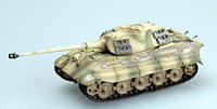 King Tiger II (Porsche Turret) Schwere SS1sPzKp (Built-Up Plastic) 1/72 Easy Models