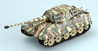 King Tiger II (Porsche Turret) Schwere SSPzAbt503 Camouflage (Built-Up Plastic) 1/72 Easy Models