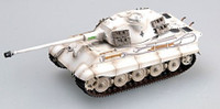 King Tiger II (Porsche Turret) Schwere SSPzAbt503 White (Built-Up Plastic) 1/72 Easy Models