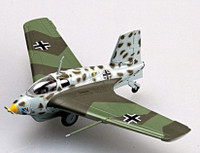 Messerschmitt Me-163B1a Komet II/JG400 WWII (Built-Up Plastic) 1/72 Easy Models