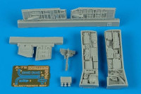 A-7E Corsair II Electronic Bay (For Hasegawa) 1/48 Aires