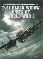 P-61 Black Widow Units of World War II Osprey Books
