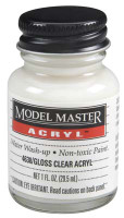 Testors Clear Gloss Acrylic 1oz. Bottle