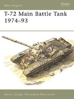Vanguard  T72 Main Battle Tank 1974-1993 Osprey Books