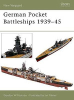 Vanguard  German Battleships 1939-1945 Osprey Books