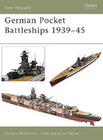 Vanguard  German Pocket Battleships 1939-1945 Osprey Books