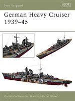 Vanguard  German Heavy Cruisers 1939-1945 Osprey Books