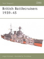 Vanguard  British Battlecruisers 1939-45 Osprey Books