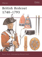 Warrior  British Redcoat (1) - 1740-1793 Osprey Books