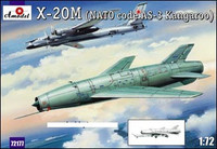 X-20M (AS3 Kangaroo NATO Code) Soviet Strategic Airborne Missile System 1/72 A-Models