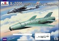 X-20M (AS3 Kangaroo NATO Code) Soviet Strategic Airborne Missile System 1/72 A-Models