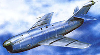 KS-1/KRM-1 (AS-1 Kennel NATO Code) Soviet Guided Anti-Shipping Missile 1/72 A-model