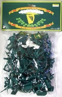 54mm Civil War Irish Brigade Figure Playset (49 Figures & 1 Horse) (Bagged) Playsets