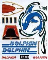Sail Boat Racer Dry Transfer- Dolphin Woodland Scenics