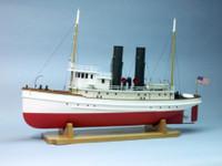 """Coastal Tug Lackawanna w/6"""" Beam (Approx. 1/48 Scale) 33"""" Dumas"""