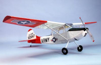 "L19 Bird Dog Wooden Airplane Kit 40"" Wingspan Dumas"