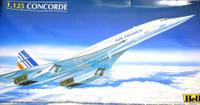 Concorde Air France Airliner 1/125 Heller