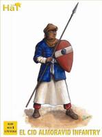 El Cid Almoravid Infantry (96) 1/72 Hat