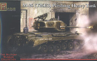 M-26 (T26E3) Pershing Heavy Tank WWII 1/72 Pegasus