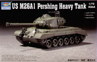 M-26A1 Pershing Heavy Tank 1/72 Trumpeter